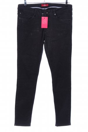 s.Oliver Skinny Jeans schwarz Casual-Look