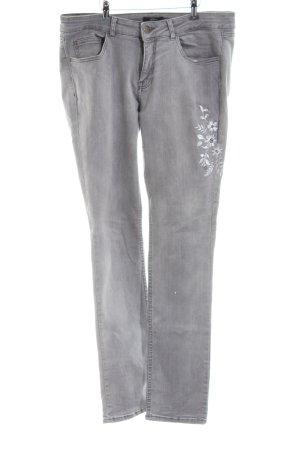 s.Oliver Slim Jeans hellgrau Casual-Look