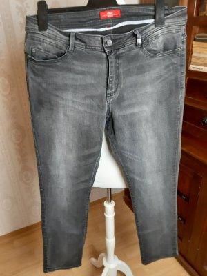 s.Oliver Jeans slim fit grigio scuro