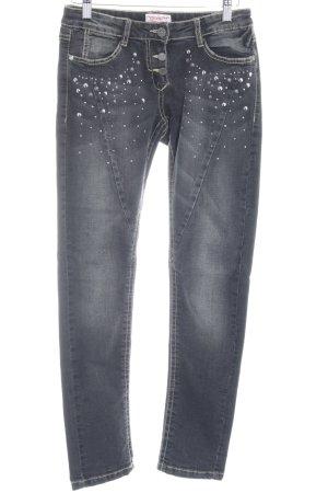 s.Oliver Slim Jeans grau Casual-Look