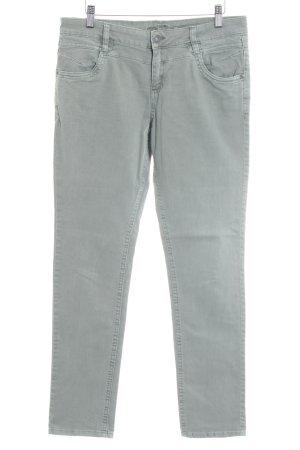 s.Oliver Slim jeans grijs-groen casual uitstraling