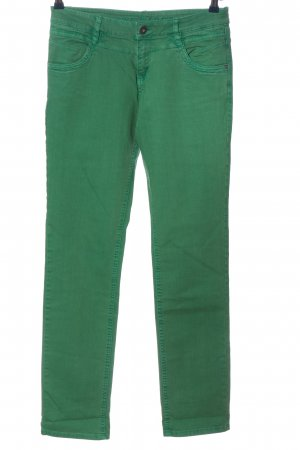 s.Oliver Slim Jeans grün Casual-Look