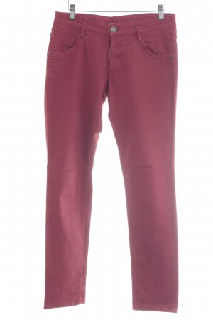 s.Oliver Slim Jeans karminrot Casual-Look