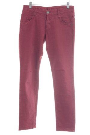 s.Oliver Slim jeans karmijn casual uitstraling