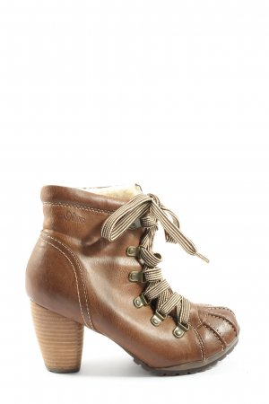 s.Oliver Slouch Stiefeletten braun Casual-Look