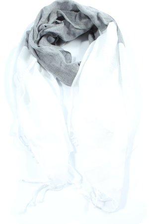 s.Oliver Summer Scarf light grey-white elegant