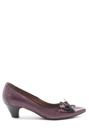 s.Oliver Zapatos de punta lila elegante