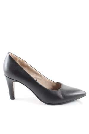 s.Oliver Spitz-Pumps schwarz Business-Look