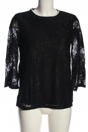 s.Oliver Lace Blouse black casual look