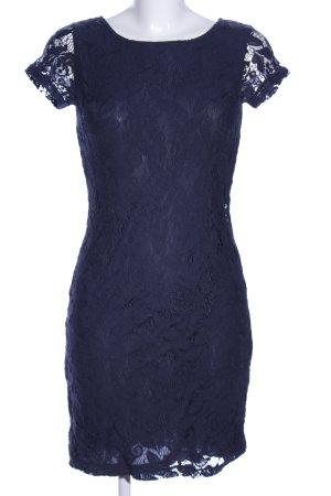 s.Oliver Spitzenkleid blau Elegant