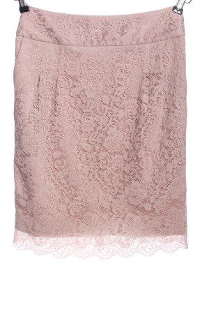 s.Oliver Kanten rok roze bloemenprint elegant