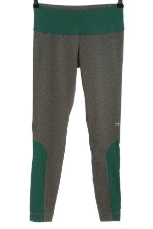 s.Oliver Sporthose hellgrau-grün meliert sportlicher Stil