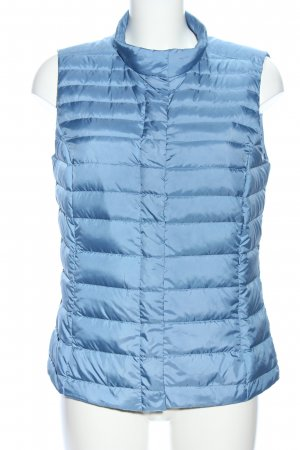 s.Oliver Steppweste blau Steppmuster Casual-Look