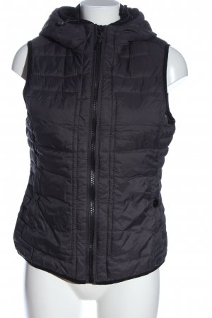 s.Oliver Quilted Gilet light grey quilting pattern casual look