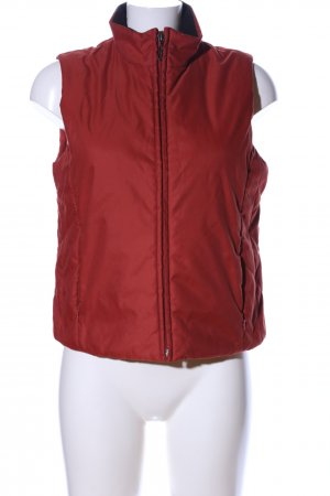 s.Oliver Quilted Gilet red business style