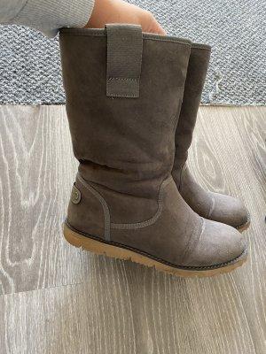 s. Oliver (QS designed) Botas de piel gris