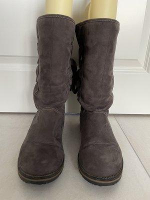 s.Oliver Stiefel Boots Gr 38 grau / braun