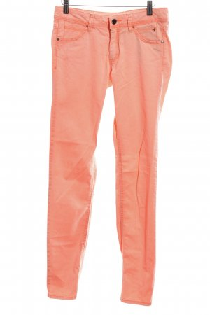 s.Oliver Stoffhose hellorange Casual-Look
