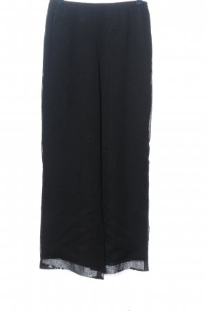 s.Oliver Stoffhose schwarz Casual-Look