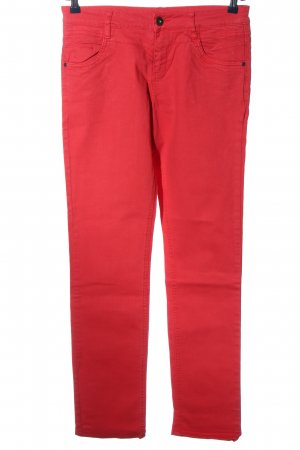 s.Oliver Stoffhose rot Casual-Look