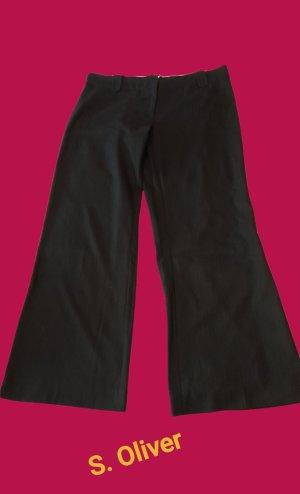 s.Oliver Pantalone jersey nero-antracite