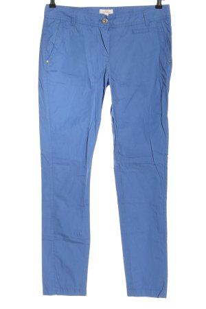 s.Oliver Stoffhose blau Casual-Look