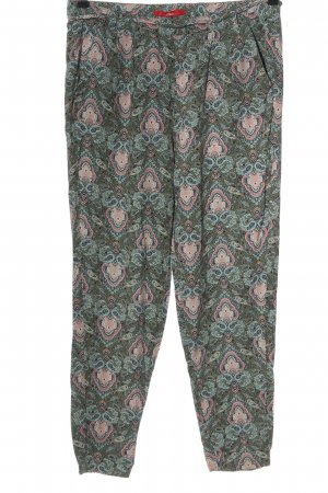 s.Oliver Jersey Pants allover print casual look
