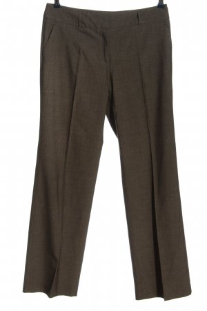 s.Oliver Stoffhose braun meliert Business-Look