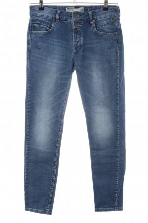 s.Oliver Stoffhose blau Casual-Look