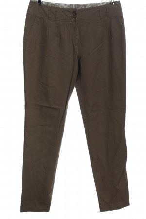 s.Oliver Stoffhose braun Casual-Look