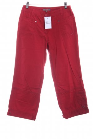 s.Oliver Stoffhose dunkelrot Casual-Look
