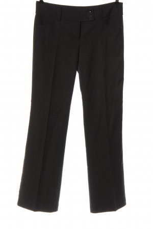 s.Oliver Jersey Pants black flecked casual look