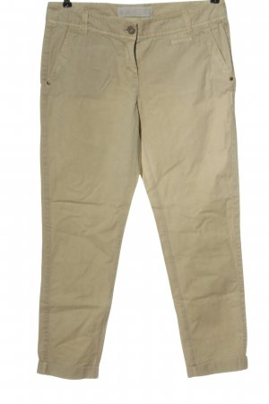 s.Oliver Stoffhose creme Casual-Look