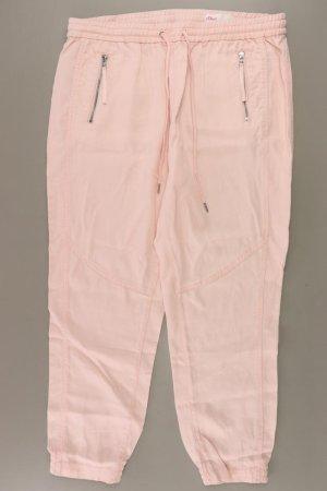 s.Oliver Stoffhose Größe 44 rosa aus Lyocell