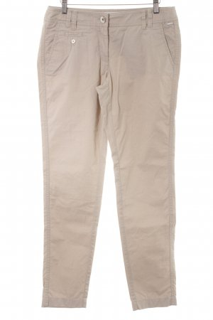 s.Oliver Stoffhose hellbeige Casual-Look