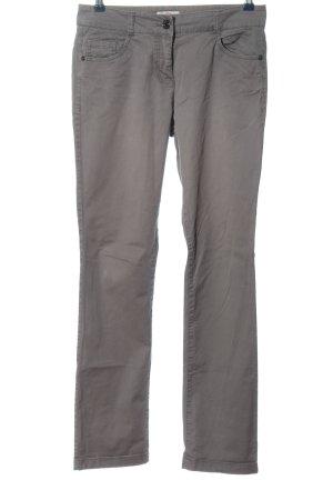 s.Oliver Spodnie materiałowe jasnoszary W stylu casual