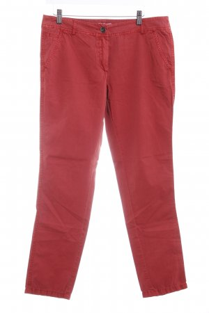 s.Oliver Stoffhose hellrot Casual-Look
