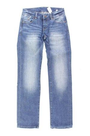 s.Oliver Straight Jeans Größe 34 blau aus Baumwolle