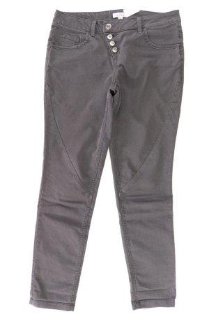 s.Oliver Straight Jeans Größe 36 grau aus Baumwolle