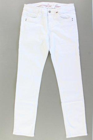 s.Oliver Jeansy z prostymi nogawkami w kolorze białej wełny