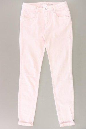 s.Oliver Straight Jeans Größe 38 pink aus Baumwolle