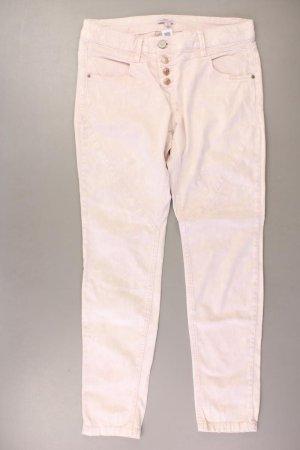 s.Oliver Straight Jeans Größe 40 rosa aus Baumwolle