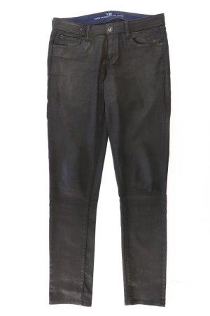 s.Oliver Straight Jeans Größe 40 schwarz aus Baumwolle