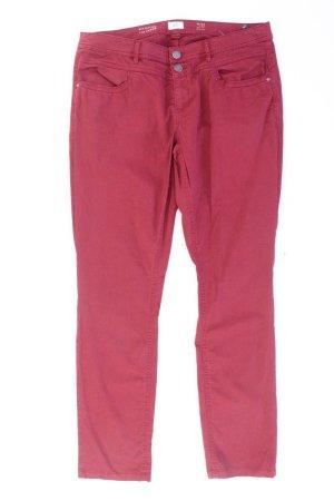 s.Oliver Straight Jeans Größe 44 rot aus Baumwolle