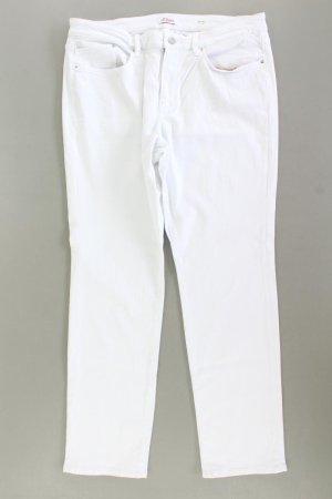 s.Oliver Straight Jeans Größe W44/L30 weiß aus Baumwolle