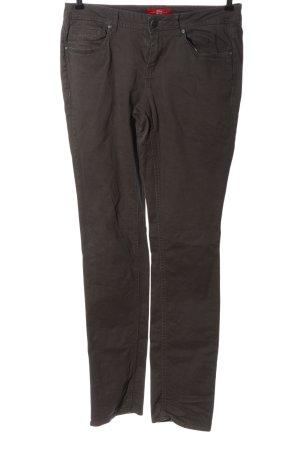 s.Oliver Jeansy z prostymi nogawkami brązowy W stylu casual
