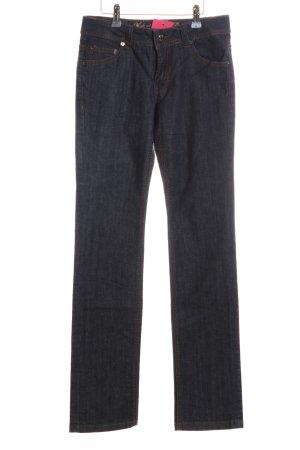 s.Oliver Jeansy z prostymi nogawkami czarny W stylu casual