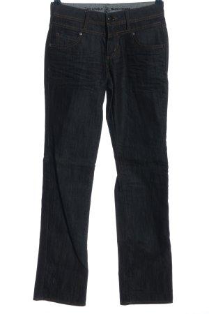 s.Oliver Jeansy z prostymi nogawkami niebieski-brązowy W stylu casual