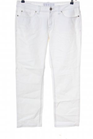 s.Oliver Straight-Leg Jeans weiß Casual-Look