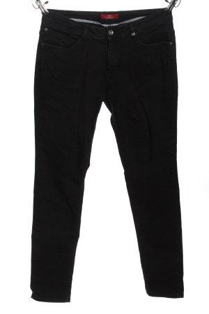 s.Oliver Slim Jeans schwarz Casual-Look